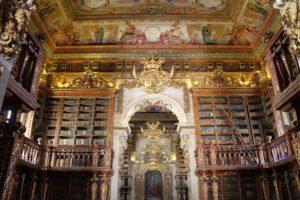 Coimbra bibliotheek Noord Portugal