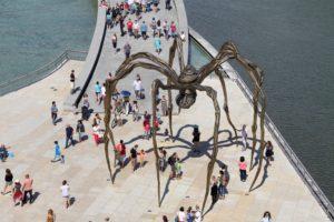 Bilbao Guggenheim museum met kinderen