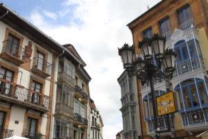 Galicië glazen balkons Spanje