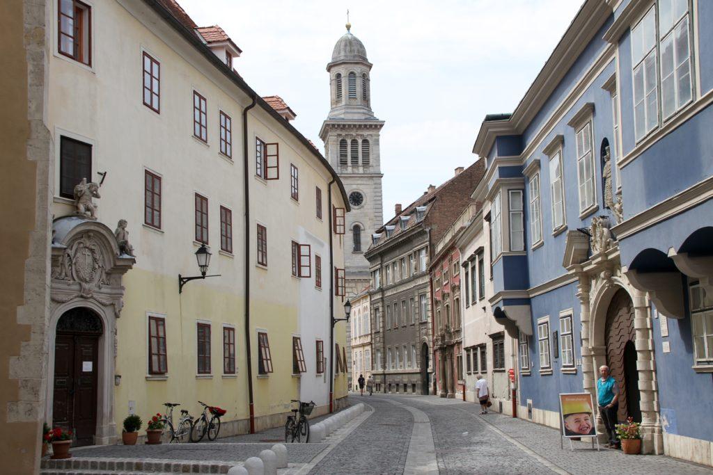 Sopron Hongarije met kinderen