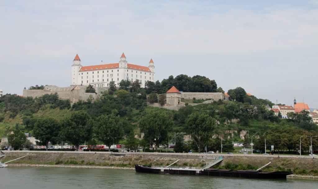 Bratislava Slowakije met kinderen