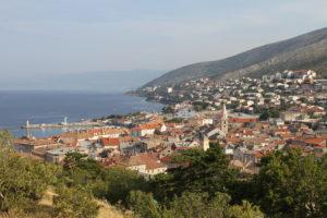 Senj, Kroatië, Kvarner regio met kinderen