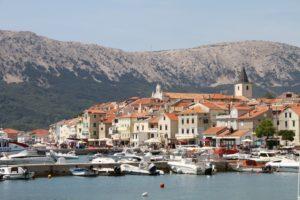 Baska eiland Krk, Kvarner regio Kroatië met kinderen