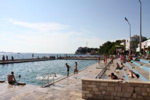 Zadar Kroatië met kinderen