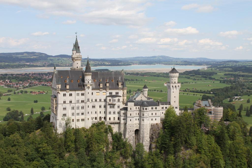Zuid Duitsland Neuschwanstein met kinderen