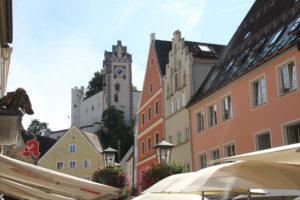Fussen Beieren Zuid Duitsland met kinderen